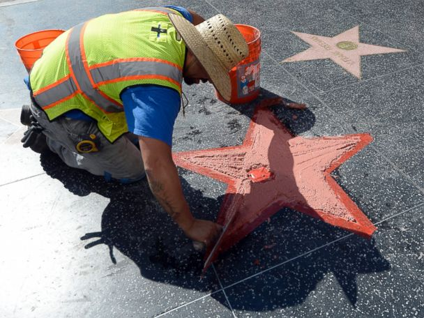 Trump's Defaced Star Will Cost Thousands to Repair