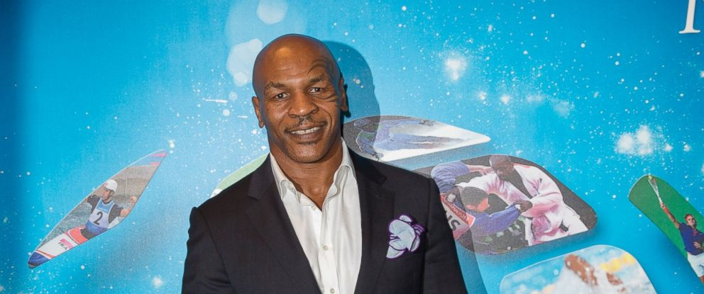 PHOTO: Mike Tyson attends the Georges Bertelotti Golden Podium Awards for the best sports video sequences of the year as part as Sportel World Sports Content Media Convention at Grimaldi Forum, Oct. 8, 2014, in Monaco.