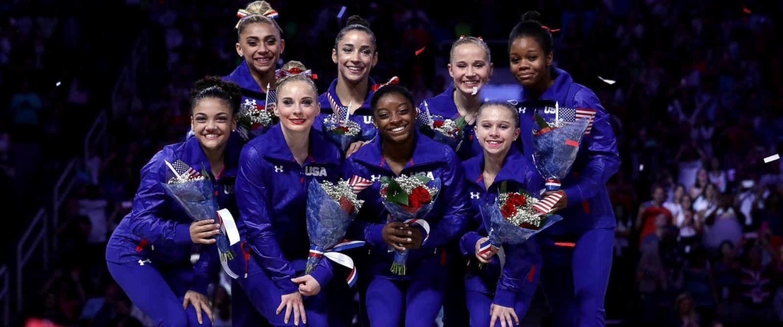rising stars gymnastics meet 2016 olympics