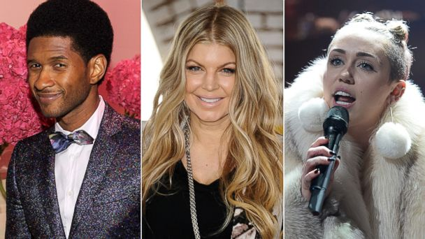 PHOTO: What can we expect from Usher, Fergie, and Miley Cyrus in 2014?
