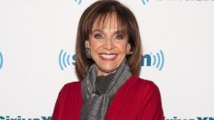 PHOTO: Valerie Harper visits the SiriusXM Studios in New York, April 17, 2014.
