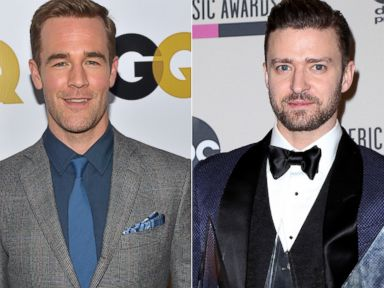 James Van Der Beek Recalls the Night He Let Justin Timberlake Use His ID