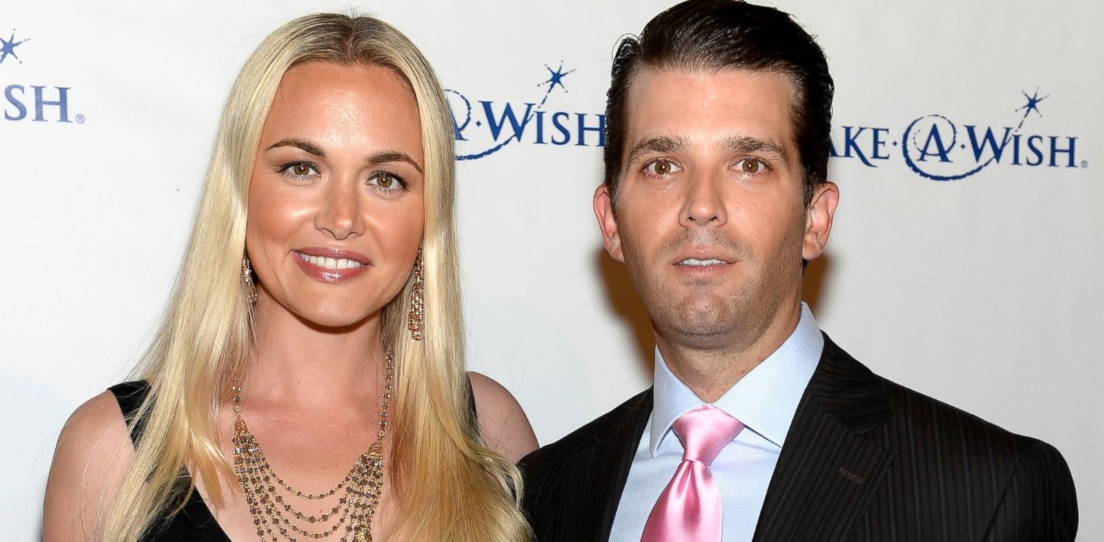 "PHOTO: Vanessa Trump and Donald Trump Jr. attend ""An Evening of Wishes"", Make-A-Wish Metro New Yorks 30th Anniversary Gala at Cipriani, Wall Street, June 13, 2013, in New York City."
