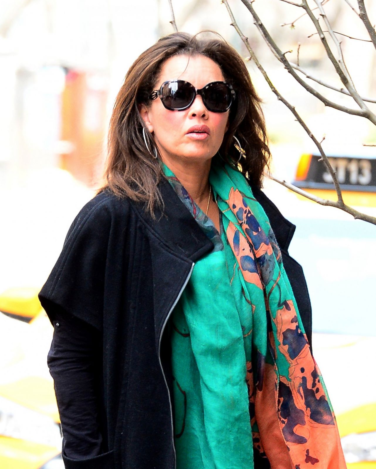 Vanessa Williams: Vanessa Williams Makes A Bright Appearance In NYC Picture
