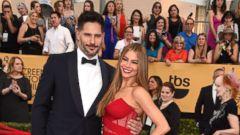 Sofia Vergara Shows Off Her Engagement Ring -- And Joe Manganiello -- at the SAG Awards