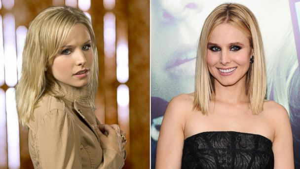 """PHOTO: Kristin Bell stars as Veronica in Veronica Mars.   Kristen Bell attends the """"Veronica Mars"""" screening at AMC Loews Lincoln Square, March 10, 2014 in New York City."""