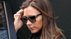 Victoria Beckham Goes Low-Key in London