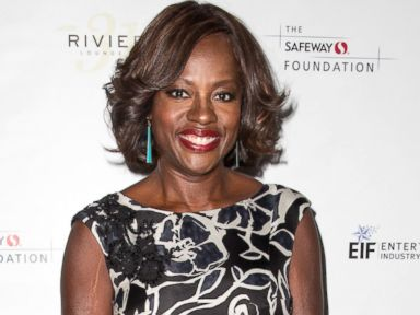 PHOTO: Viola Davis attends The Moms Mamarazzi event in support of the Hunger Is initiative at Riviera31 Sofitel Hotel, June 10, 2014, in Los Angeles.