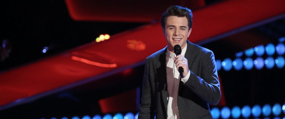 "PHOTO: Tanner James performs during battle rounds on ""The Voice"" which aired March 24, 2014."