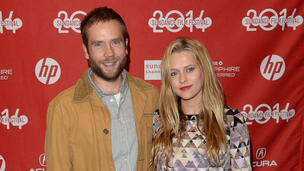 PHOTO: Mark Webber, left, and Teresa Palmer, right, are pictured during the 2014 Sundance Film Festival on Jan. 17, 2014 in Park City, Ut.
