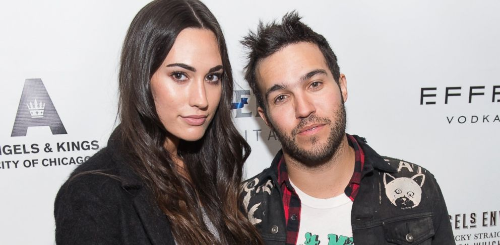 PHOTO: In this file photo, Meagan Camper, left, and Pete Wentz, right, are pictured on Feb. 2, 2013 in Chicago, Ill.