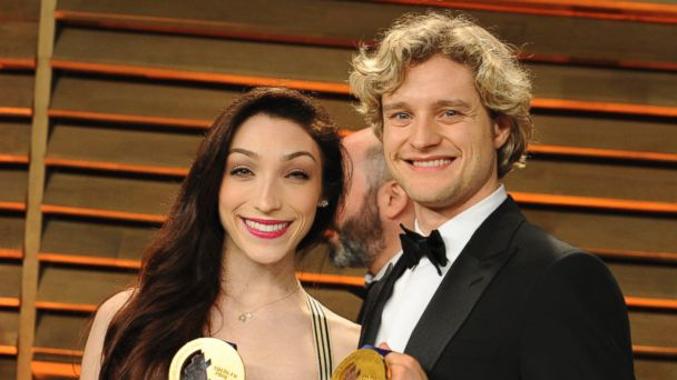 GTY white davis kab 140304 16x9 608 Vote: Are Ice Dancers Meryl Davis and Charlie White a Lock to Win DWTS?