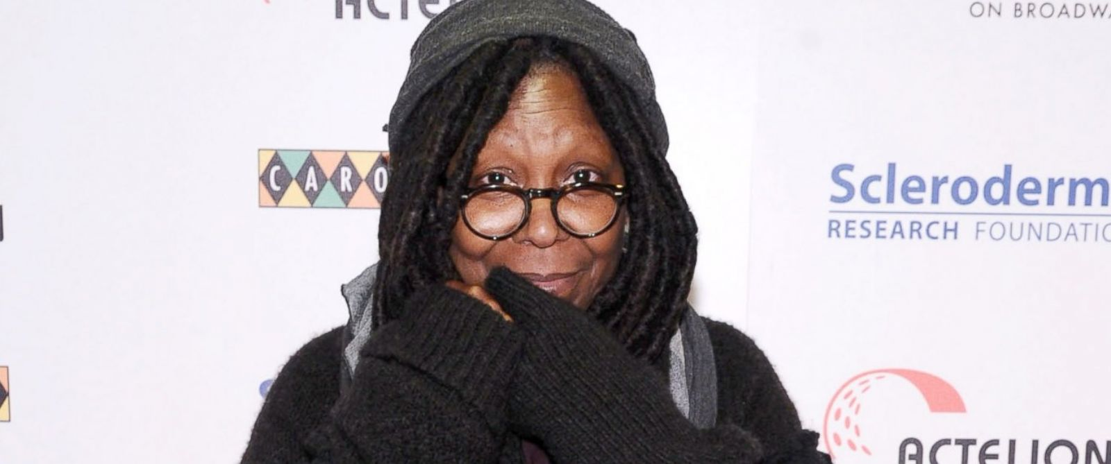 "PHOTO: Whoopi Goldberg attends ""Stand Up"" For Scleroderma Research at Carolines On Broadway, Dec. 2, 2014, in New York City."
