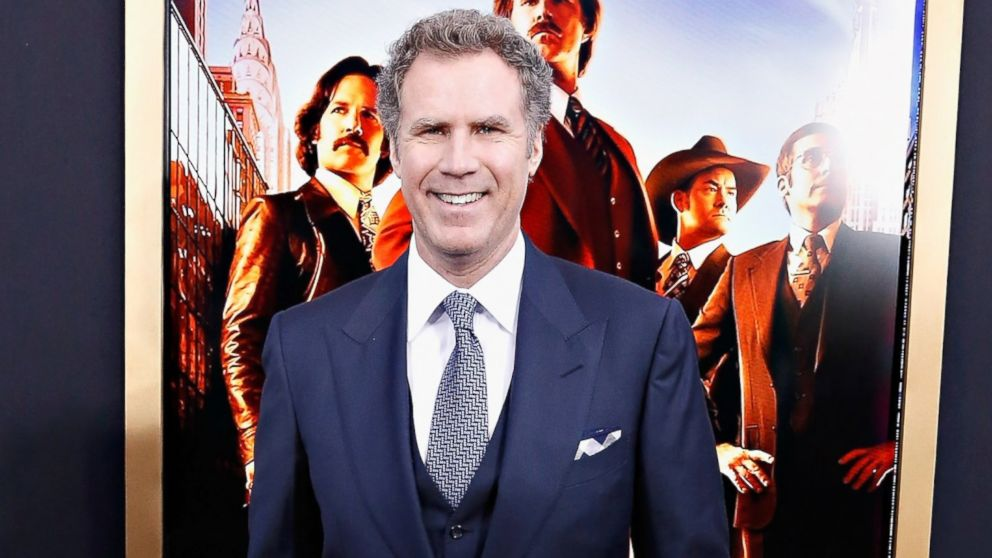 "PHOTO: Will Ferrell attends the ""Anchorman 2: The Legend Continues"" premiere, Dec. 1"