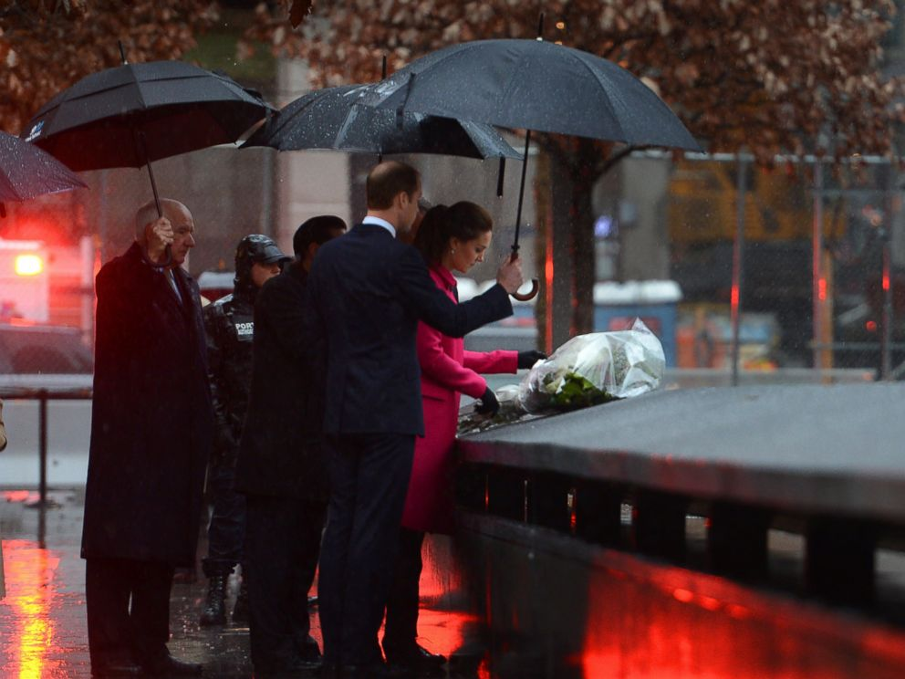 read the note duchess kate left at the 9  11 memorial