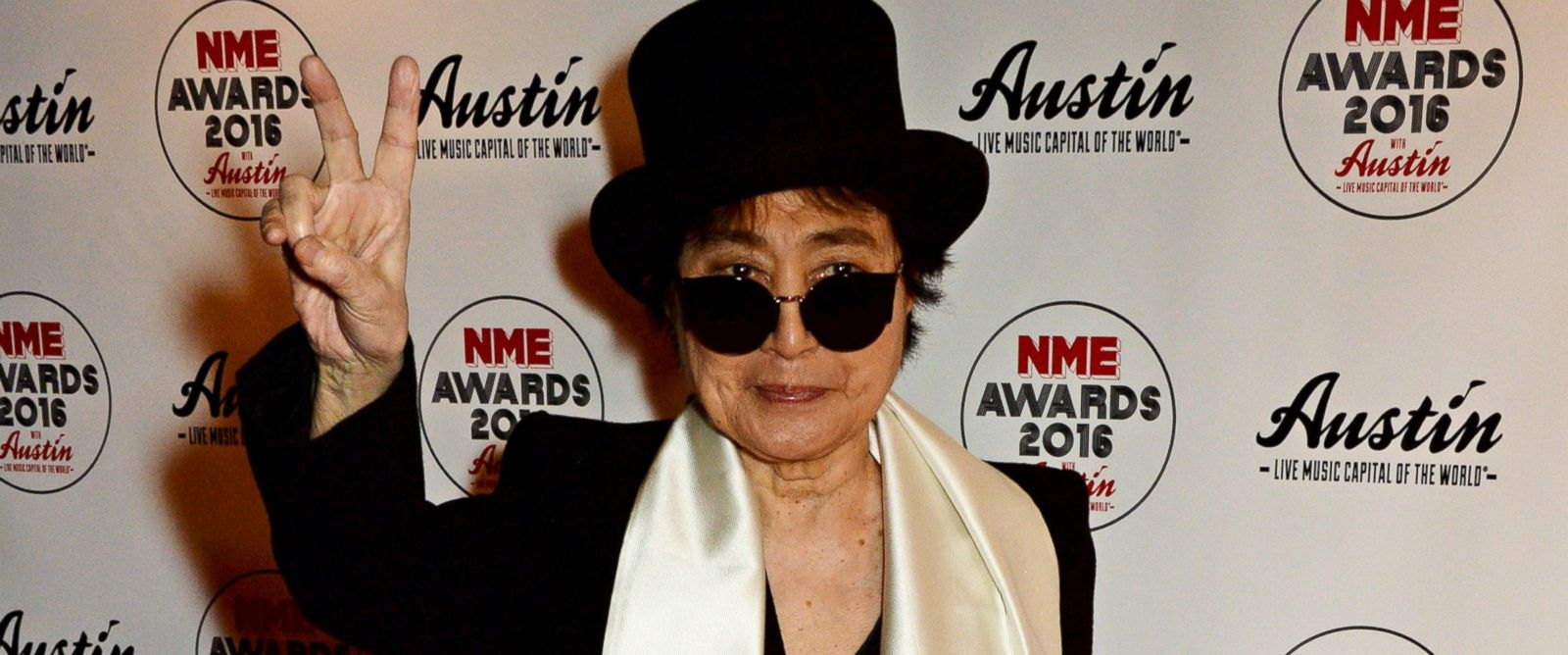 PHOTO: Yoko Ono attends the NME Awards at the O2 Academy Brixton, Feb. 17, 2016, in London.