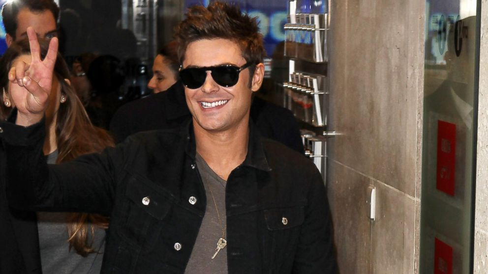 PHOTO: Zac Efron seen at BBC Radio One, April 24, 2014, in London.