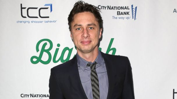 "PHOTO: Zach Braff attends the ""Big Fish"" Broadway Opening Night on Oct. 6, 2013 in New York."