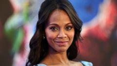 PHOTO: Zoe Saldana Shares a Photo of Her Twins