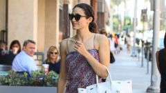 Emmy Rossum Goes for a Stroll in L.A.