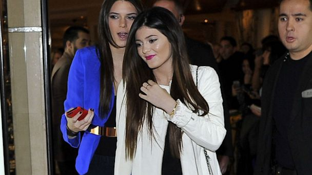PHOTO: Kendall Jenner and Kylie Jenner appear at the Kardashian Khaos store at The Mirage Hotel & Casino for a fan meet-n-greet, Dec. 15, 2012 in Las Vegas.