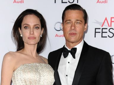 PHOTO: Angelina Jolie and Brad Pitt attend the premiere of By the Sea at the 2015 AFI Fest at TCL Chinese 6 Theatres, Nov. 5, 2015, in Hollywood, California.