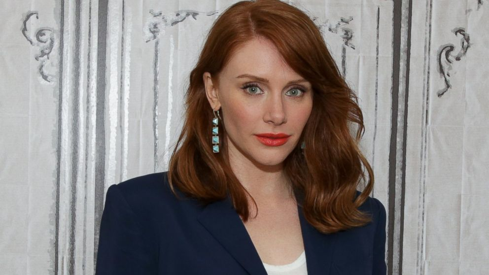 PHOTO  Bryce Dallas Howard Discusses Her New Film  quot Jurassic World quot  at    Bryce Dallas Howard Weight Loss 2013