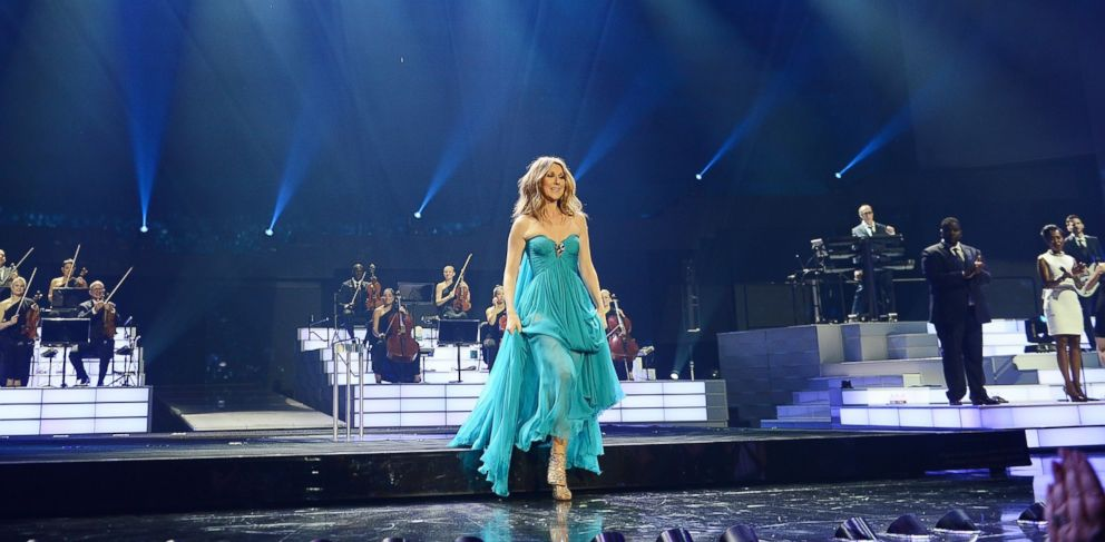 PHOTO:Celine Dion premieres the much-anticipated return of her headline residency show at the Colosseum at Caesars Palace, Aug.27, 2015, in Las Vegas.