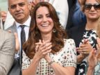 Duchess Kate Cheers on Andy Murray at Wimbledon