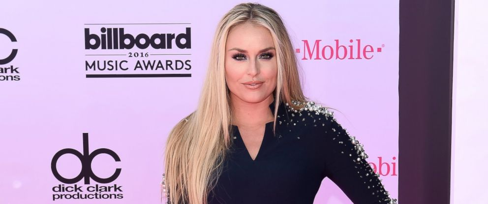 PHOTO: Lindsey Vonn arrives at the 2016 Billboard Music Awards at T-Mobile Arena, May 22, 2016, in Las Vegas.