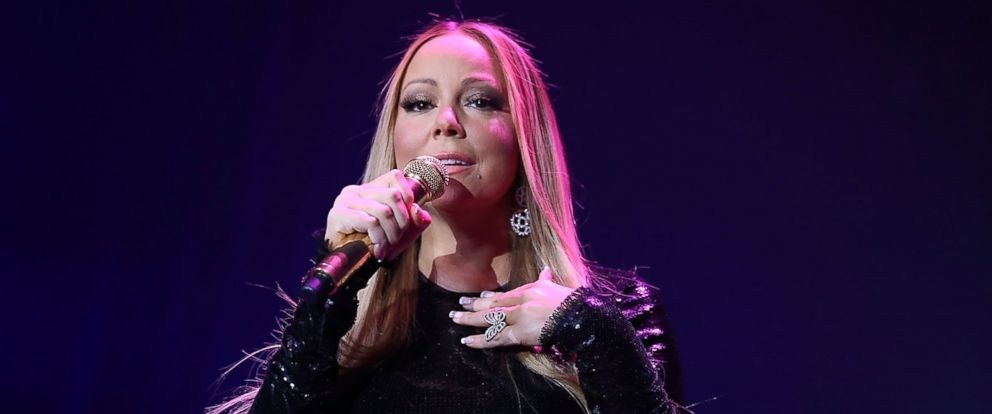 PHOTO: Mariah Carey performs at the Qatar Airways Los Angeles Gala at Dolby Theatre, Jan. 12, 2016 in Hollywood, California.