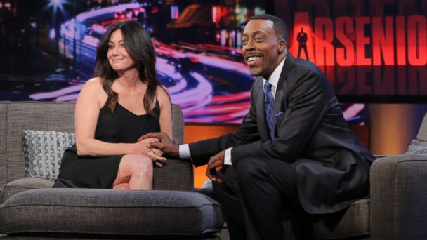 HO Arsenio Hall Shannen Doherty TG 140516 16x9 608 Surprise! Shannen Doherty is a Fan of Tori Spellings Show