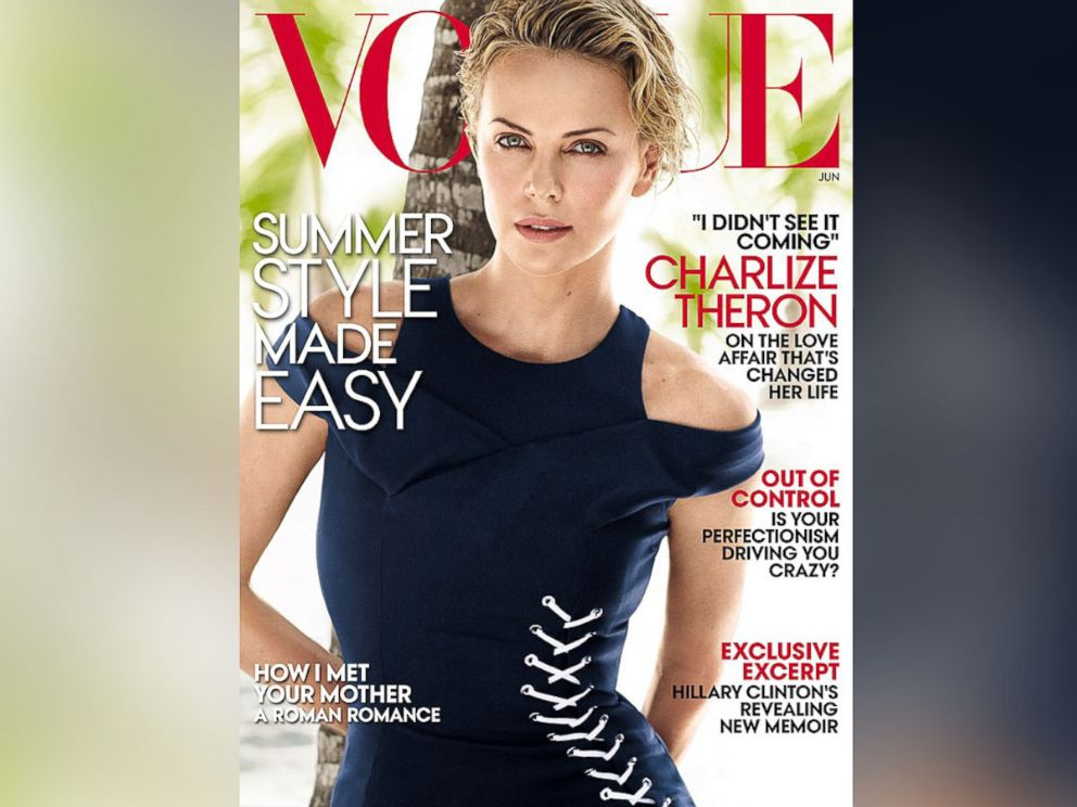 PHOTO: Charlize Theron on the cover of Vogue.