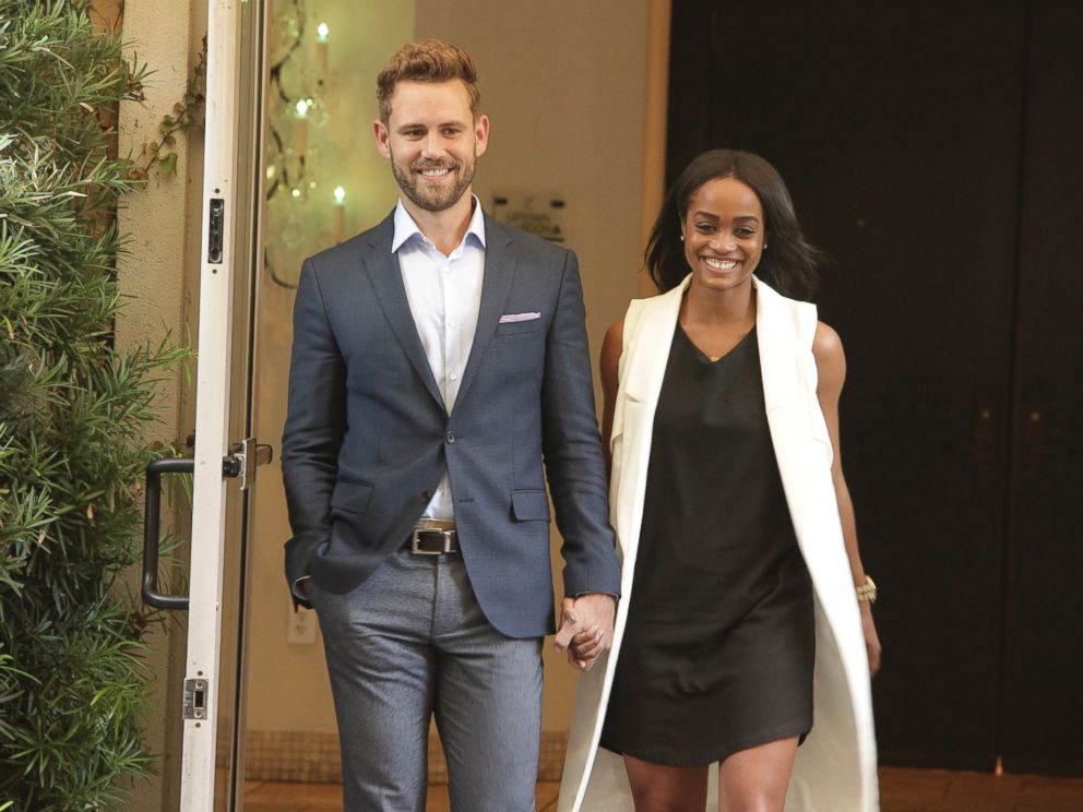 PHOTO Nick Viall And Rachel On The Bachelor Which Aired Feb 20