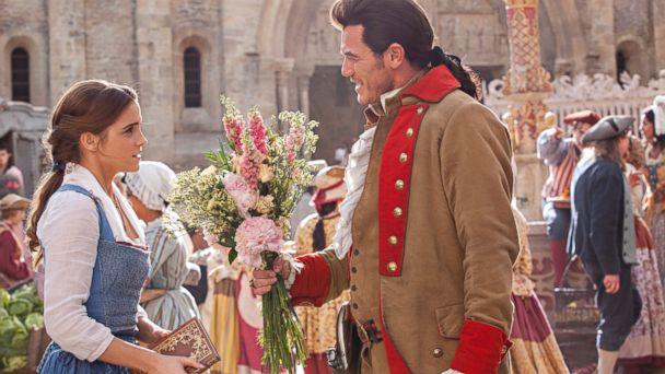 PHOTO: Gaston (Luke Evans) is relentless in his pursuit of Belle (Emma Watson) in Disney's
