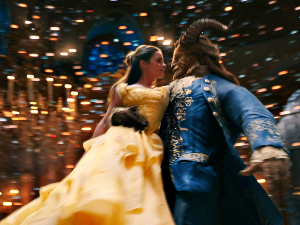 PHOTO: Belle (Emma Watson) comes to realize that underneath the hideous exterior of the Beast (Dan Stevens) there is the kind heart of a Prince in Disneys Beauty and the Beast, directed by Bill Condon.