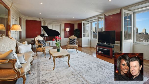 PHOTO: A New York City apartment once owned by the late David Bowie is on the market for $6.495 million.