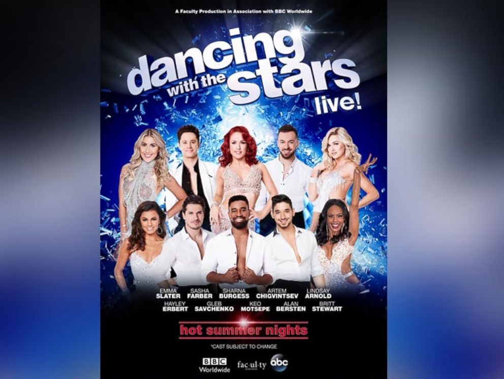 Dancing With The Stars Tour  Cast