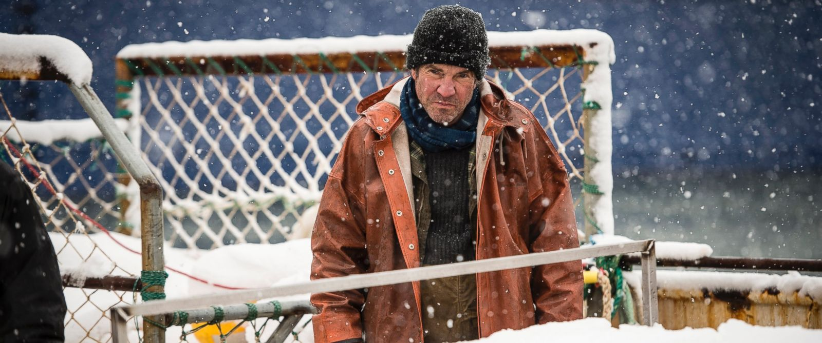 "PHOTO: Dennis Quaid in a scene from ""Fortitude."""