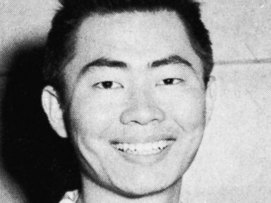George Takei during his senior year at Los Angeles High School in Los Angeles.