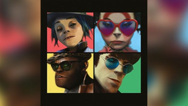 PHOTO: Humanz [Explicit] by Gorillaz