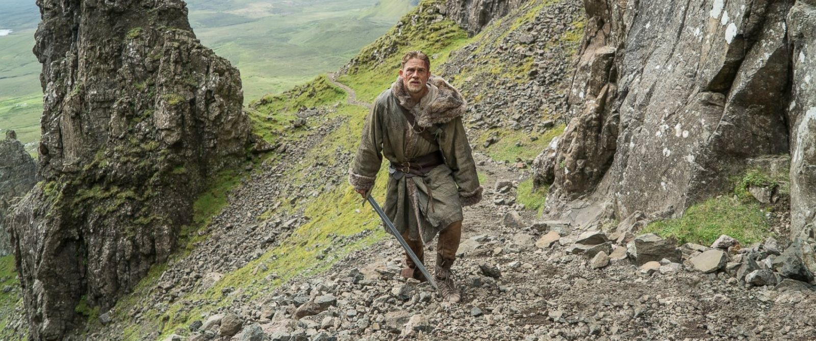 In A Scene From The Movie King Arthur Legend Of The Sword 2017