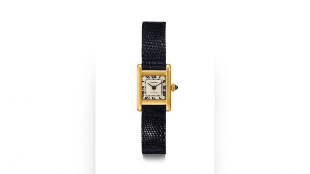 PHOTO: The watch once owned by former first lady Jacqueline Kennedy, along with a painting made by her, will be going to auction on June 21, 2017.
