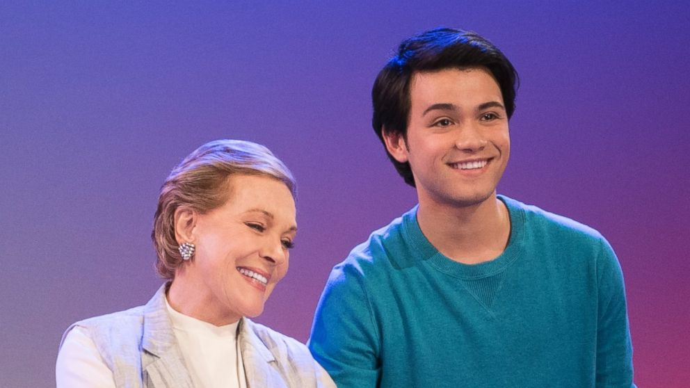 PHOTO: Julie Andrews and Guillian Gioiello in Netflix's Julie's Greenroom.