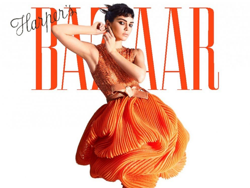 PHOTO: Kendall Jenner appears on May 2017s Harpers Bazaar cover.