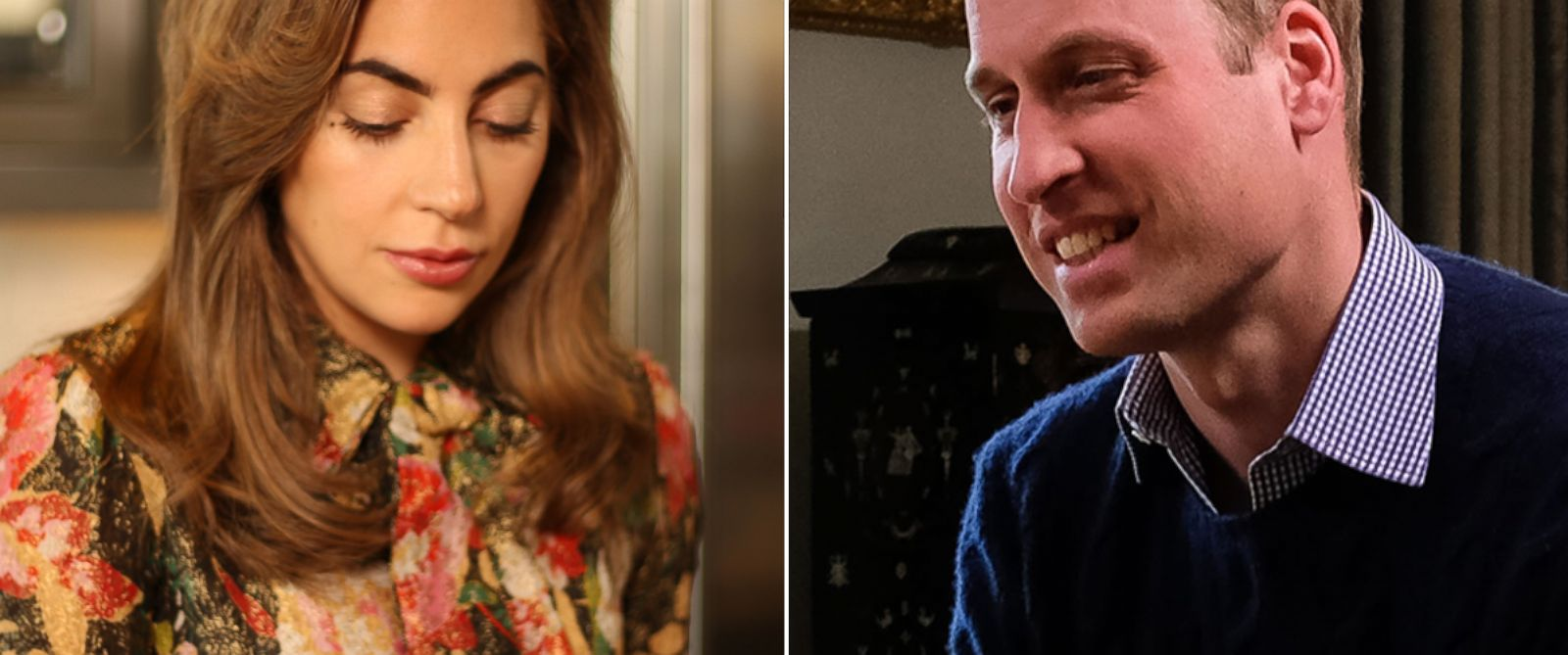 PHOTO: Lady Gaga and Prince William speak on FaceTime to discuss breaking stigmas that surround mental health issues.