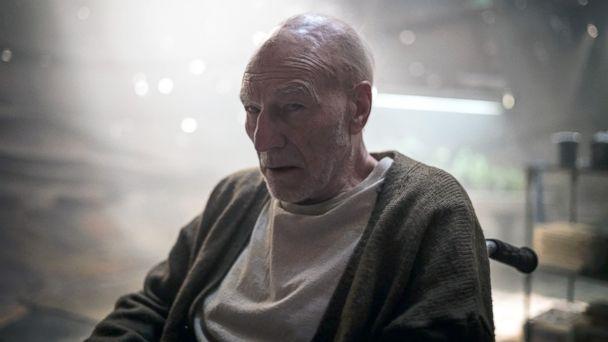 PHOTO: Patrick Stewart in the movie,