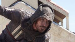 "PHOTO: Michael Fassbender in a scene from the movie, ""Assassins Creed,"" 2016."