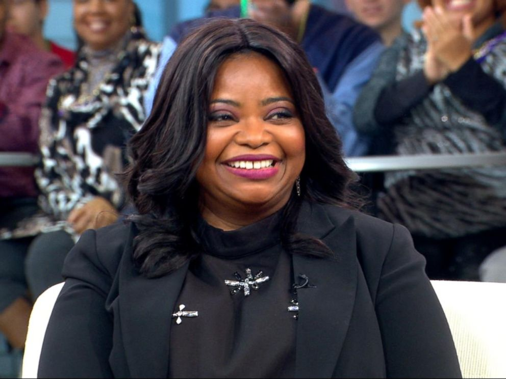 PHOTO: Octavia Spencer speaks to GMA, on Feb. 28, 2017, in New York City.