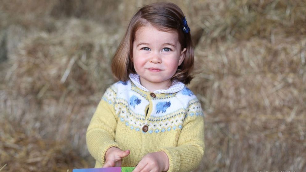 Princess Charlotte's new portrait released to celebrate 2nd birthday